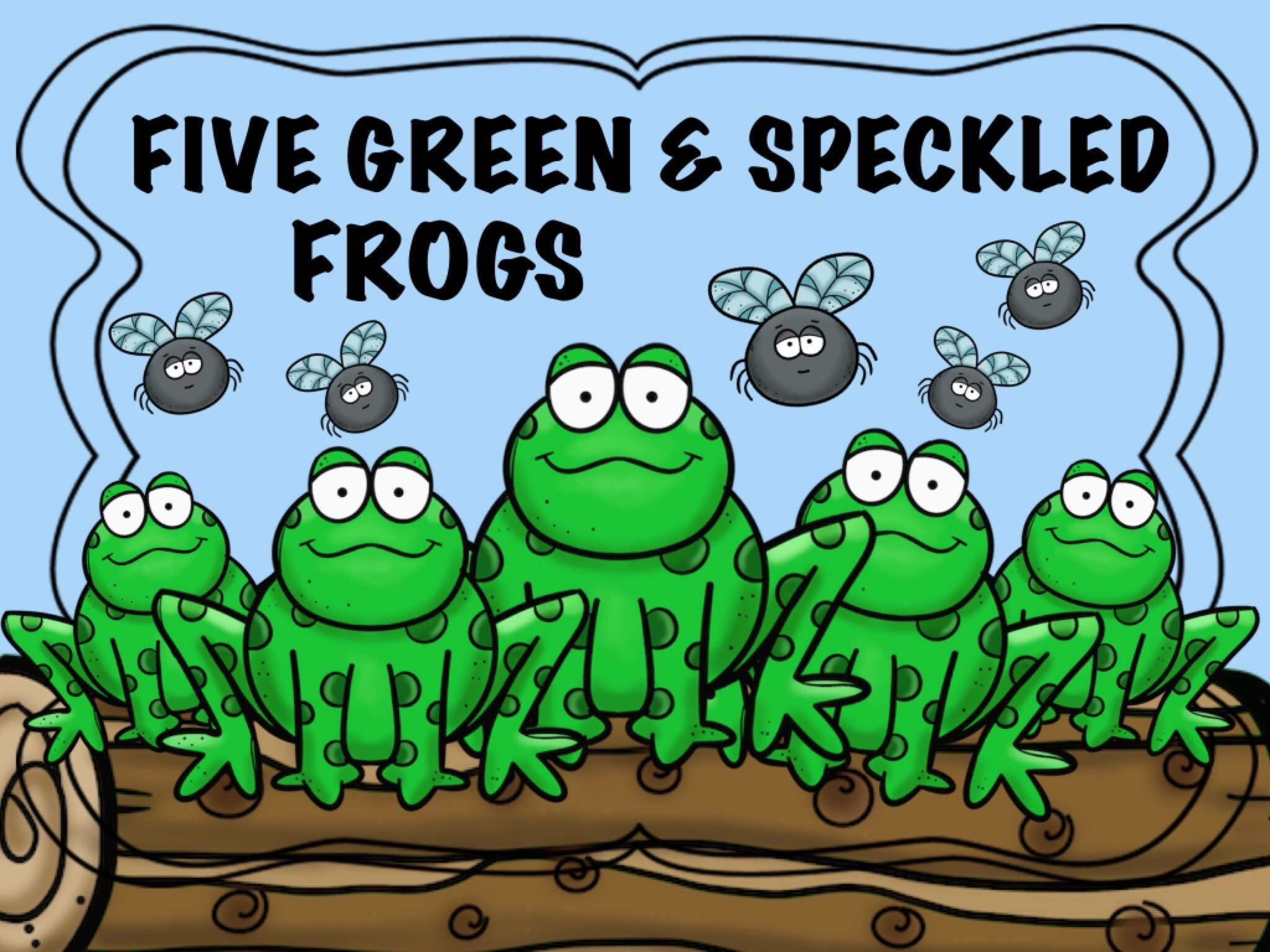 Play Five Green Speckled Frogs by Cici Lampe - on TinyTap