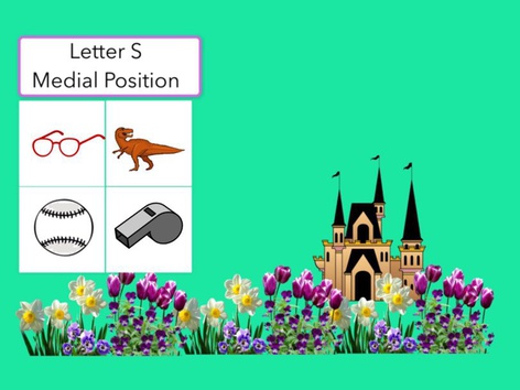 Letter S Medial Position Of Words (1) by Carol Smith
