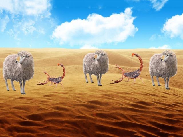 حيوانات البر by Manal Alenezi