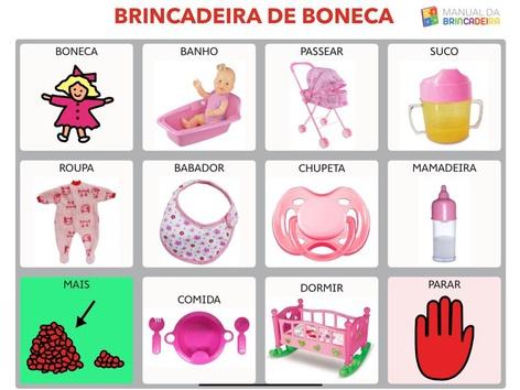 BRINCADEIRA DE BONECA PRANCHA - Manual Da Brincadeira  by MIRYAM PELOSI