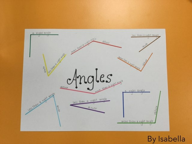 Isabella angles by Year Four