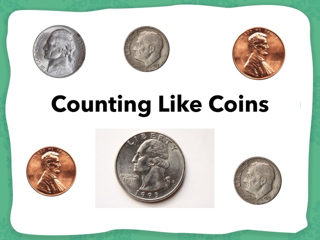 Counting Like Coins by Lori Board