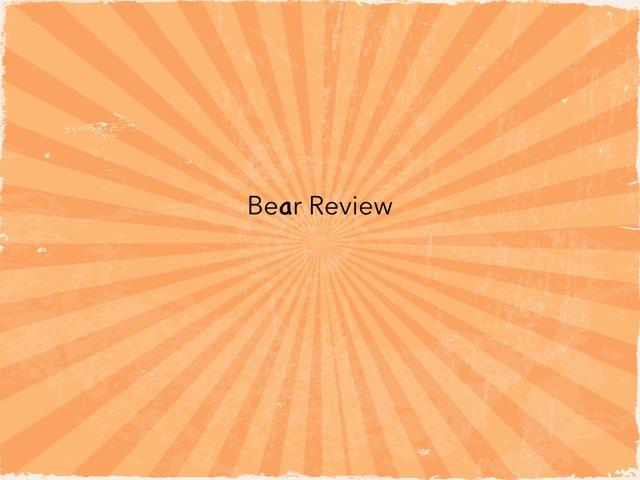 Bear Review by Jenny Lehman