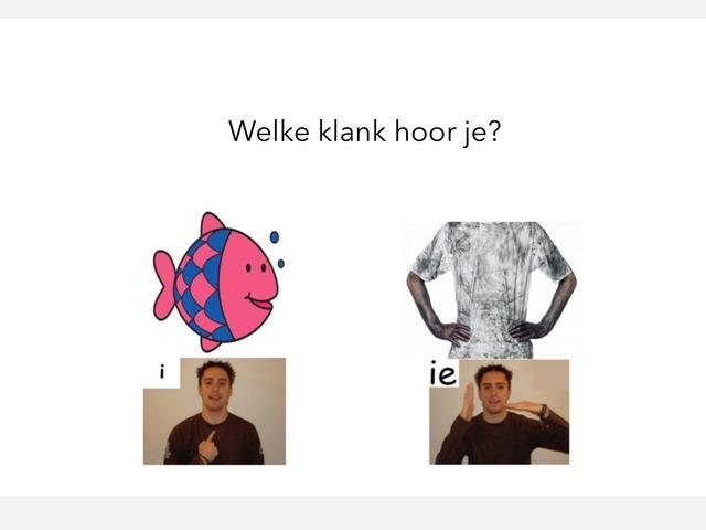 Klanken i ie by Jaap van Oosteren