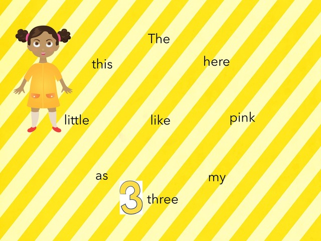 Touch The Words Week 1-3 Grade 1 by Andrea Pereira