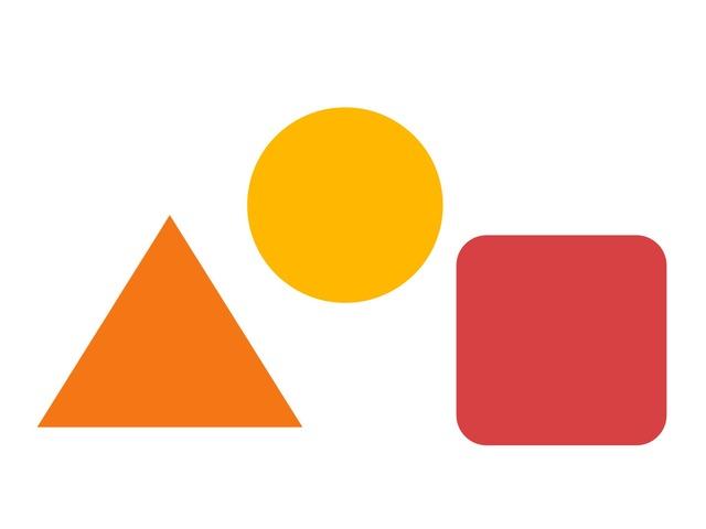 Geomeetrilised kujundid by Michelle-Natali Omeljantsuk