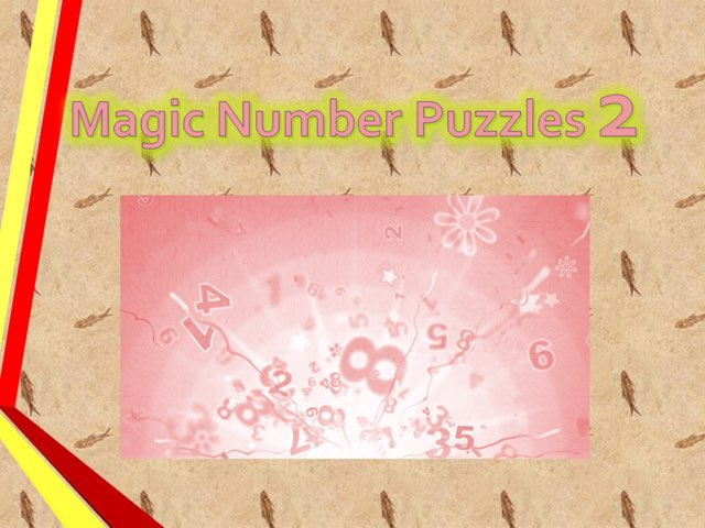 Magic Number Puzzles 2 by Sam Kwan