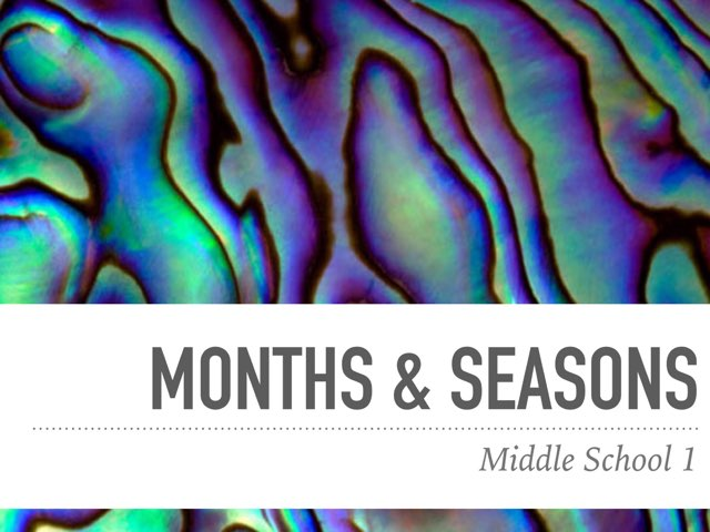 MiddleSchool-us-Months&Seasons by Teeny Tiny TEFL