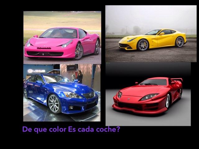 Coches De Colores by Alexia Lopez