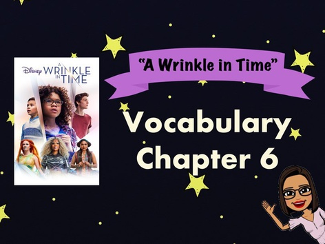 AWIT Ch.6 Vocabulary Flash cards & Game by Iliana Navarro-Chiessa