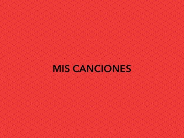 MIS CANCIONES by Romina Dascoli