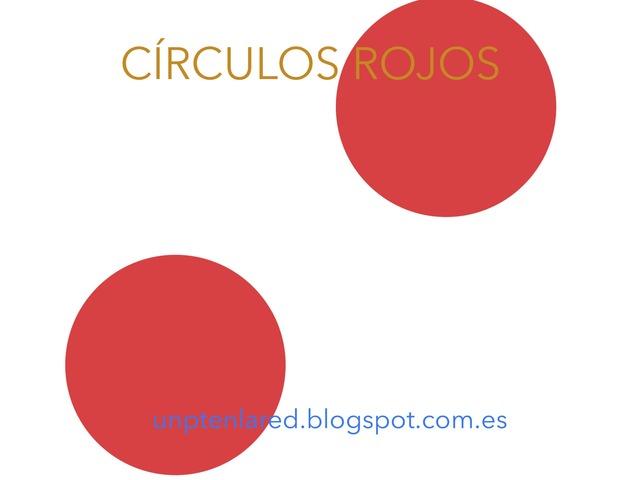 Círculos Rojos by Jose Sanchez Ureña