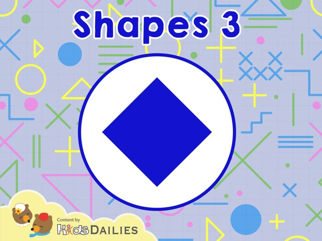 Shapes 3 by Kids Dailies