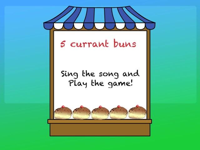 5 Currant Buns  by Debbie Hurst