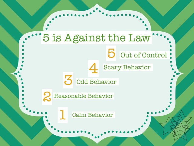 5 Is Against The Law by Jean Herold