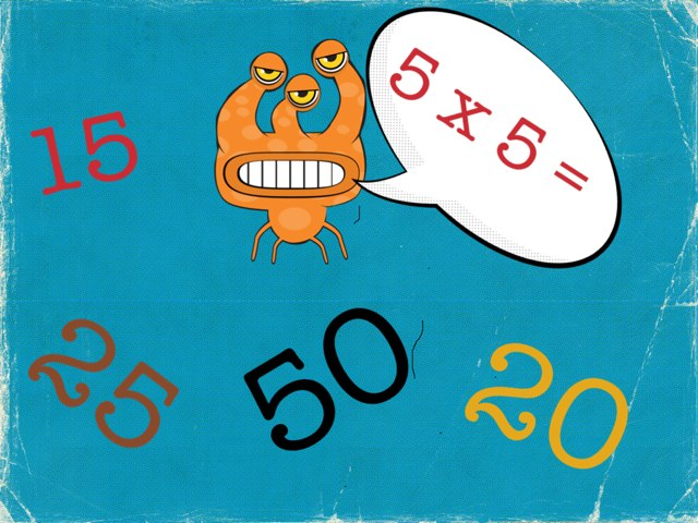 5 Times Table Game by Patrick Clark