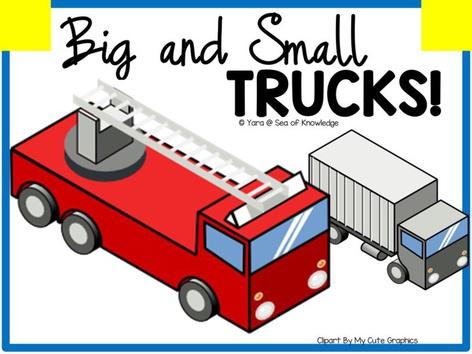 Big And Small Trucks by Yara Habanbou