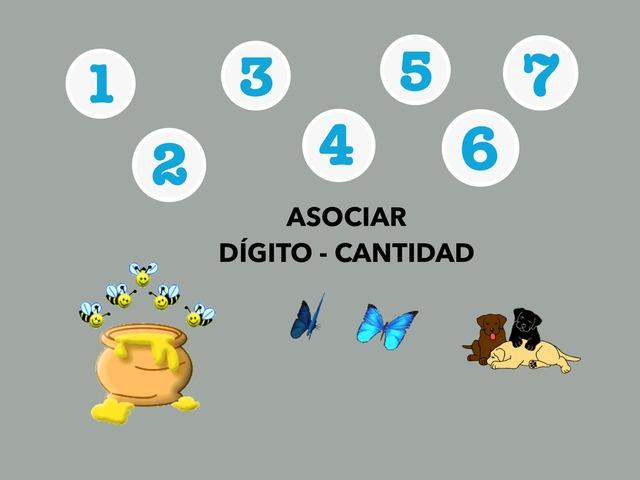 Asociar Dígito-Cantidad by Francisca Sánchez Martínez