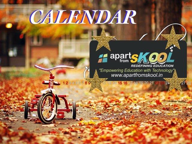 Calendar  by TinyTap creator