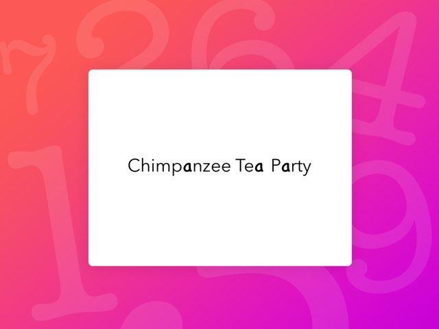 Chimpanzee Tea Party by Jenny Lehman