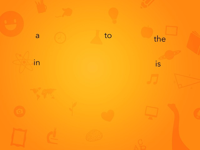 Fry Words 1 - 10 by Jacqueline Johnson