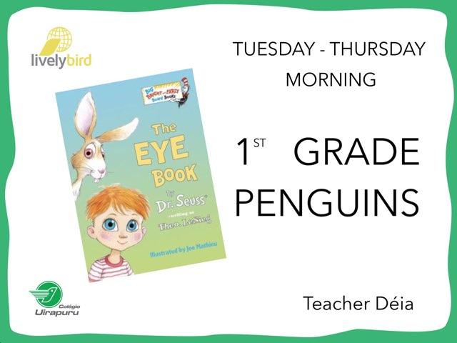 The Eye Book - T/T Morning by Lively Bird Uirapuru