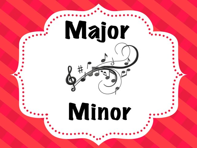 Major - minor Music by A. DePasquale