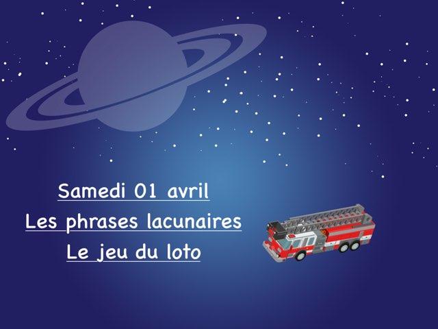 L - Sam01 - Phrases Et Loto by Caroline Gozdek
