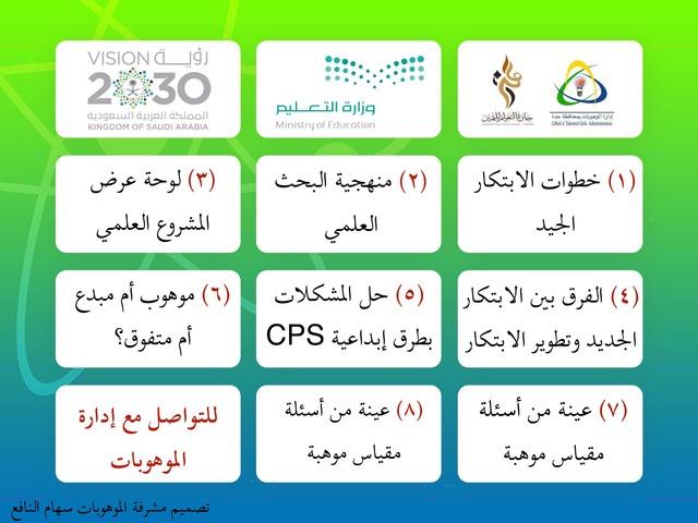 أنشطة متنوعة من إدارة الموهوبات بجدة by Seham Sa