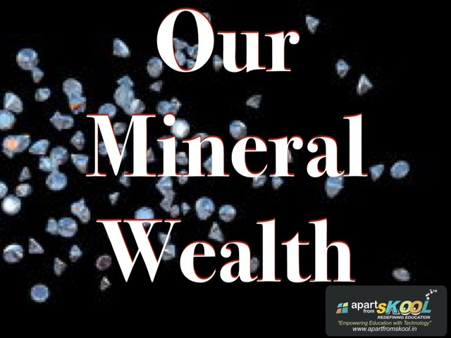 Our Mineral Wealth by TinyTap creator