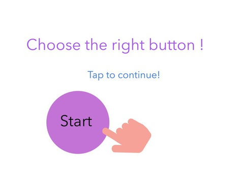 Choose The Right Button by Alica