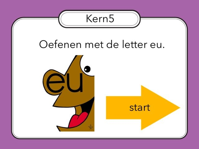 Letter eu (kern5) by Renske Imthorn
