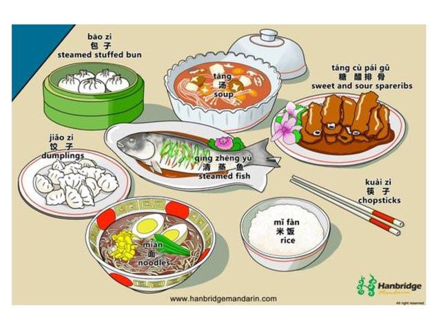 中国食物 by Wenqin Zhuang