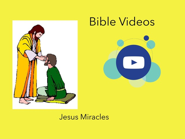 Bible Videos: Jesus Miracles by Carol Smith