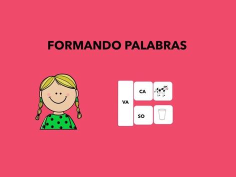 FORMANDO PALABRAS by Francisca Sánchez Martínez