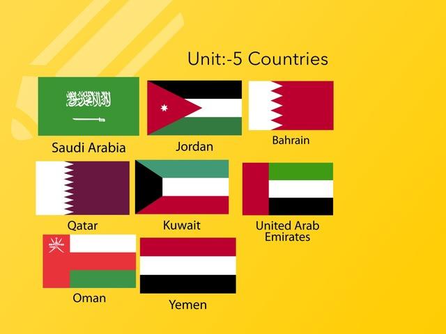 Countries by Norah Ghazali