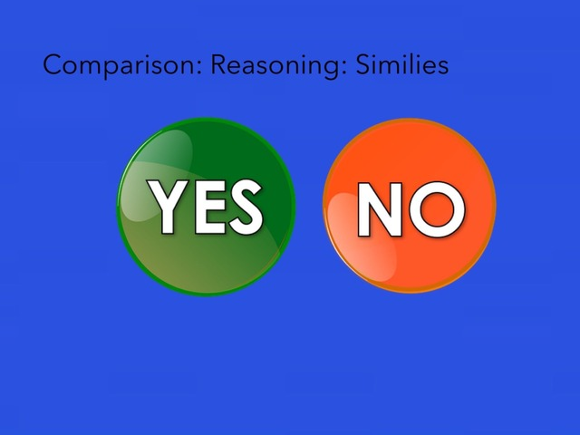 Similes: Yes And No Questions  by Carol Smith
