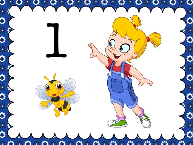 """Counting With """"B"""" - Numbers 1-5 by Cici Lampe - Educational"""
