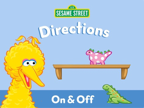 On & Off  by Sesame Street by Tiny Tap