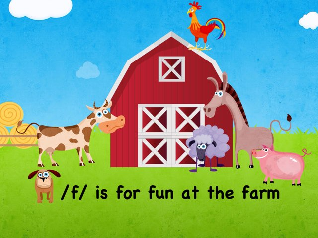 /f/ Is For Fun At The Farm by Whitney Shannon