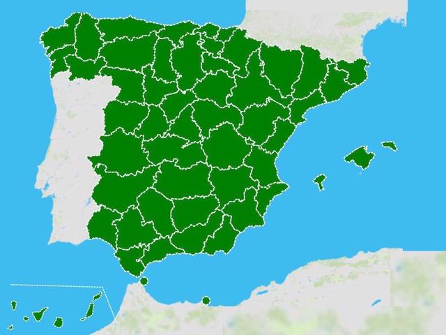 Provincias De España by Carla Lopez Jimenez