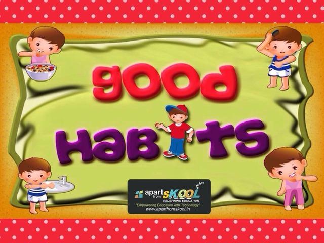 Good Habits by TinyTap creator
