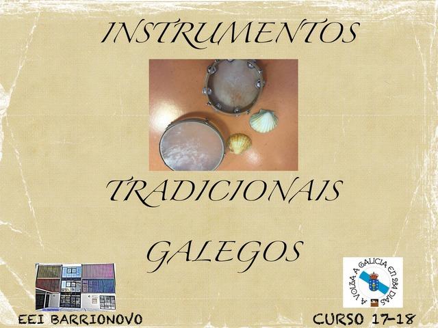 INSTRUMENTOS TRADICIONAIS GALEGOS by Aida Muestra A.L.