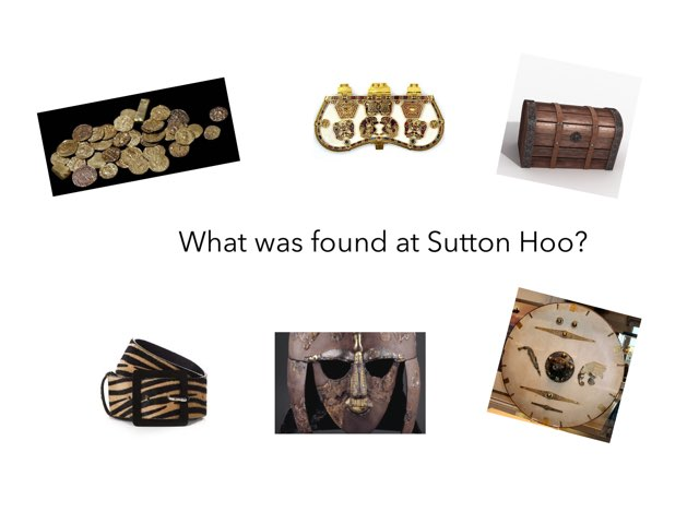 This is a game about the Sutton Hoo discovery. by RGS Springfield