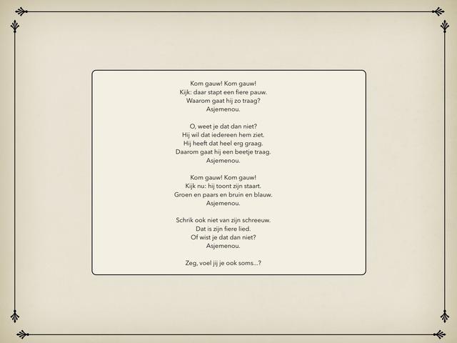 Gemengde Opdrachten Bij Gedicht Groen Blik Juist by Michelle Rogiers