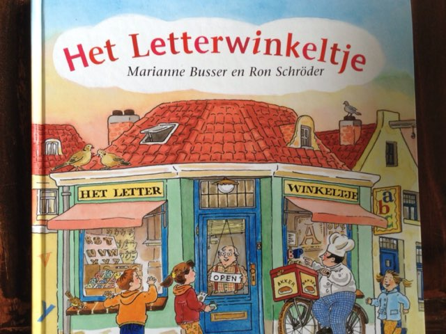 Het letterwinkeltje - Deel 5 by Britt vanKessel