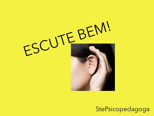 Escute Bem! by ۞Ste Lonza