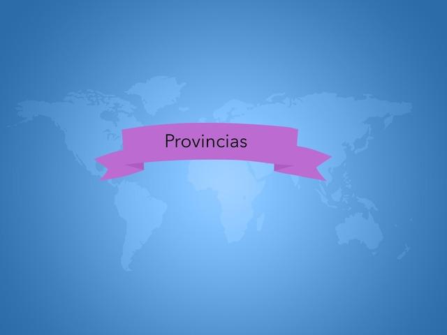 Actividad Interactiva Provincias by Jorge Gómez Sancho