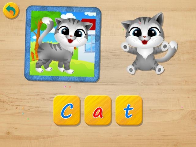 Kindergarten Spelling Game by Gundala Petir