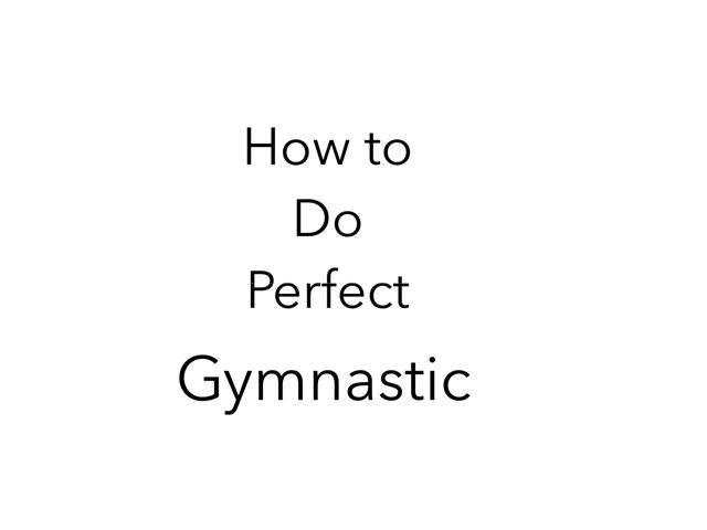 Gymnastic by Yagmur Puranaci